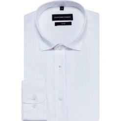 Koszula SIMONE slim KLBS000029. Białe koszule męskie Giacomo Conti, z długim rękawem. Za 199.00 zł.