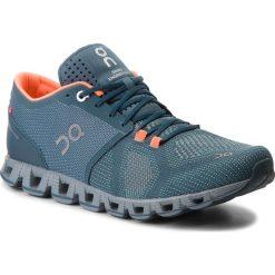 Buty ON - Cloud X 000020 Storm/Flash 4316. Niebieskie buty sportowe męskie On, z materiału. Za 649.00 zł.