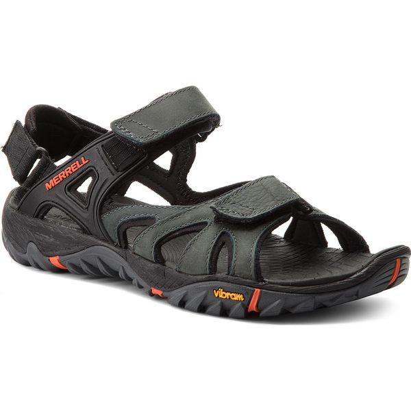 Sandały męskie: Sandały MERRELL - All Out Blaze Sieve Convert J12651 Dark Slate