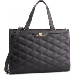Torebka WITTCHEN - 87-4E-400-1 Czarny. Czarne torebki do ręki damskie Wittchen, ze skóry. W wyprzedaży za 489.00 zł.