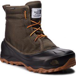 Śniegowce THE NORTH FACE - Tsumoru Boot T93MKS5UA Tarmac Green/Tnf Black. Zielone śniegowce i trapery męskie The North Face, z materiału. Za 499.00 zł.