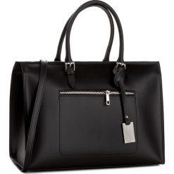 Torebka CREOLE - K10403  Czarny. Czarne torebki do ręki damskie Creole, ze skóry. W wyprzedaży za 279.00 zł.