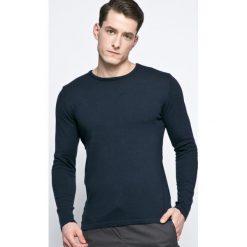 Casual Friday - Sweter. Czarne swetry przez głowę męskie Casual Friday, z bawełny, z okrągłym kołnierzem. W wyprzedaży za 79.90 zł.
