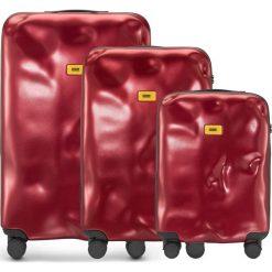 Walizki Icon w zestawie 3 el. czerwony. Walizki męskie Crash Baggage, z materiału. Za 2,628.00 zł.