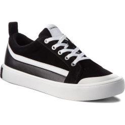 Trampki CALVIN KLEIN JEANS - Dino S1760 Black/White/Black. Czarne trampki męskie Calvin Klein Jeans, z gumy. W wyprzedaży za 459.00 zł.