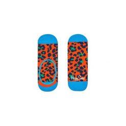 Skarpetki Happy Socks - Leopard Liner (LEO06-2000). Szare skarpety męskie Happy Socks, w kolorowe wzory, z bawełny. Za 27.90 zł.