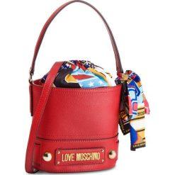 Torebka LOVE MOSCHINO - JC4040PP17LD0500  Rosso. Czerwone torebki do ręki damskie Love Moschino, z materiału. Za 719.00 zł.