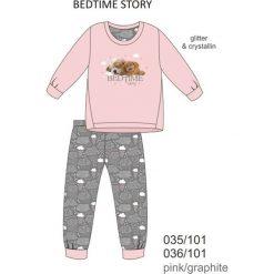Piżama dziewczęca DR 035/101 Bedtime story Różowa r. 140. Bielizna dla chłopców Cornette. Za 60.76 zł.
