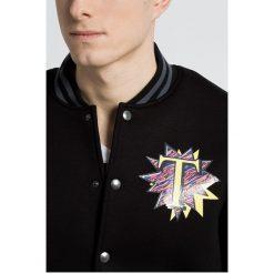 Trussardi Jeans - Kurtka. Czarne kurtki męskie TRUSSARDI JEANS, z bawełny. W wyprzedaży za 799.90 zł.