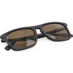 Okulary przeciwsłoneczne BOSS - 0320/S Mtblue Wood 2FW. Niebieskie okulary przeciwsłoneczne damskie Boss, z tworzywa sztucznego. W wyprzedaży za 399.00 zł.