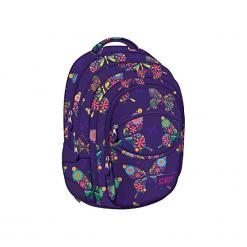 Plecak szkolny Street Butterfly BP-03. Niebieskie torby i plecaki dziecięce Starpak. Za 99.90 zł.