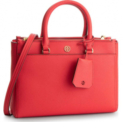 Torebka TORY BURCH - Robinson Small Double-Zip Tote 46331 Brillant Red 612. Czerwone torebki do ręki damskie Tory Burch, ze skóry. Za 1,699.00 zł.