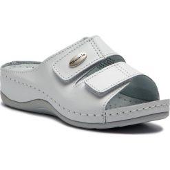 Klapki TAMARIS - 1-27510-22 White Leather 117. Białe klapki damskie Tamaris, ze skóry. Za 139.90 zł.