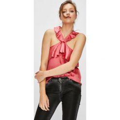 Pepe Jeans - Top Pipper. Różowe topy damskie Pepe Jeans, z jeansu, bez rękawów. W wyprzedaży za 199.90 zł.