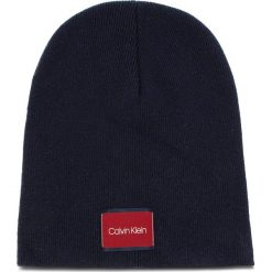 Czapka CALVIN KLEIN - Classic Beanie M K50K504118 448. Niebieskie czapki i kapelusze męskie Calvin Klein. Za 179.00 zł.
