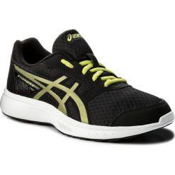Buty ASICS - Stormer 2 T843N  Black/Neon Lime/White 9089. Czarne buty sportowe męskie Asics, z materiału. W wyprzedaży za 159.00 zł.