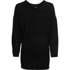 Sweter dzianinowy bonprix czarny. Swetry damskie marki KALENJI. Za 59.99 zł.