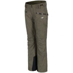 4F Damskie Spodnie Narciarskie H4Z17 spdn002 Brąz Xs. Spodnie snowboardowe damskie marki Nike. W wyprzedaży za 209.00 zł.