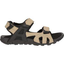 Sandały męskie SAM202 - beż. Brązowe sandały męskie 4f, z gumy. Za 119.99 zł.