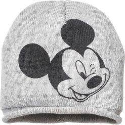 """Czapka beanie """"Myszka Miki"""" bonprix szary. Czapki i kapelusze damskie marki WED'ZE. Za 37.99 zł."""