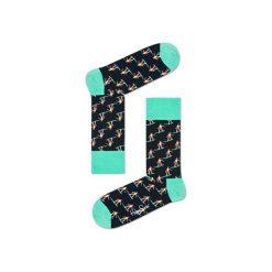 Skarpetki Happy Socks SUR01-9000. Brązowe skarpety męskie Happy Socks, z bawełny. Za 24.43 zł.