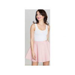 Spódnica K268 Róż. Czerwone spódnice damskie Lenitif, z tkaniny, klasyczne. Za 99.00 zł.