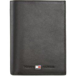 Duży Portfel Męski TOMMY HILFIGER - Johanson N/S Wallet W/Coin Pocket AM0AM00664 Czarny 002. Czarne portfele męskie Tommy Hilfiger, ze skóry. Za 299.00 zł.