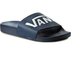 Klapki VANS - Slide-On VN0004KIIX8 (Vans) Dress Blues. Niebieskie klapki damskie Vans, z materiału. Za 99.00 zł.