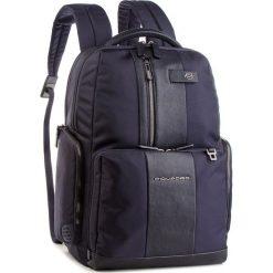 Plecak PIQUADRO - CA4532BR Blu. Niebieskie plecaki damskie Piquadro, z materiału. Za 1,339.00 zł.