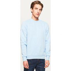 Gładka bluza Basic - Niebieski. Niebieskie bluzy męskie Reserved. Za 59.99 zł.