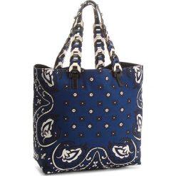 Torebka RED VALENTINO - PQ0B0A33 Cobalto/Avorio/Nero. Niebieskie torebki do ręki damskie Red Valentino, z materiału. W wyprzedaży za 1,099.00 zł.