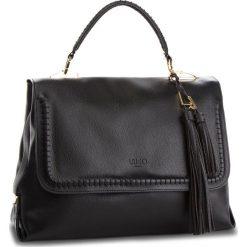 Torebka LIU JO - M Top Handle Moscov A68012 E0532 Nero 22222. Czarne torebki do ręki damskie Liu Jo, ze skóry ekologicznej. W wyprzedaży za 519.00 zł.