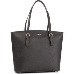 Torebka TWINSET - Shopping AS8PGN Nero 00006. Czarne torebki do ręki damskie Twinset, ze skóry. W wyprzedaży za 579.00 zł.