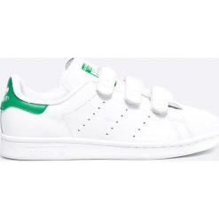 Adidas Originals - Buty Stan Smith CF. Białe buty sportowe męskie adidas Originals, z gumy. W wyprzedaży za 299.90 zł.