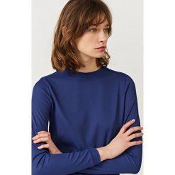 Simple - Bluzka. Niebieskie bluzki damskie Simple. W wyprzedaży za 179.90 zł.