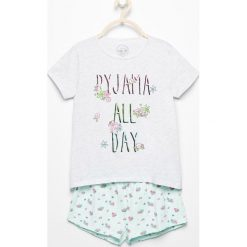 Dwuczęściowa piżama z szortami - Jasny szar. Bielizna dla chłopców Reserved. W wyprzedaży za 24.99 zł.