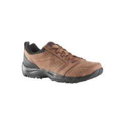 Skórzane buty męskie do szybkiego marszu Nakuru Confort brązowe. Buty sportowe męskie marki B'TWIN. Za 249.99 zł.