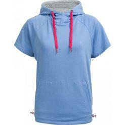 Bluza damska BLD603 - niebieski - Outhorn. Niebieskie bluzy damskie Outhorn, na lato, z bawełny. W wyprzedaży za 49.99 zł.