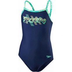 Speedo Strój Placement Thinstrap Muscleback Junior Navy/Jade/Green Glow 26. Stroje kąpielowe dla dziewczynek marki bonprix. W wyprzedaży za 89.00 zł.