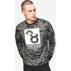bedc7cf1b4aaf Bluza sportowa kolekcja whatever - Khaki. Bluzy sportowe męskie marki Cropp.