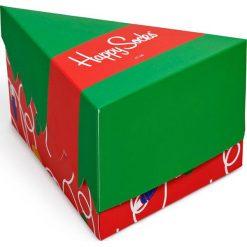 Happy Socks - Skarpetki Holiday Gift Box (3-pak). Zielone skarpety damskie Happy Socks, z bawełny. Za 99.90 zł.