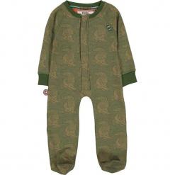 """Śpioszki """"Swimming With The Crocodiles"""" w kolorze zielonym. Zielone śpioszki niemowlęce marki 4FunkyFlavours Kids, z dzianiny. W wyprzedaży za 82.95 zł."""