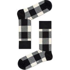 Happy Socks - Skarpety Blac & White Gift Box (4-pak). Białe skarpety męskie Happy Socks. W wyprzedaży za 99.90 zł.