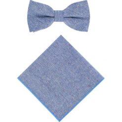 Mucha z poszetką MUN0006004. Niebieskie krawaty i muchy Giacomo Conti. Za 109.00 zł.