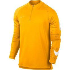 Nike Koszulka piłkarska Dry Squad Drill żółta r. M (859197 845). T-shirty i topy dla dziewczynek Nike. Za 170.14 zł.