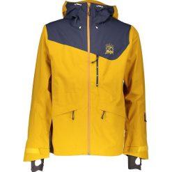 """Kurtka narciarska """"Grants"""" w kolorze żółtym. Żółte kurtki męskie Maloja, z gore-texu. W wyprzedaży za 861.95 zł."""