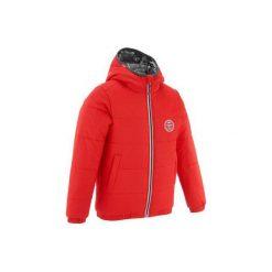 KURTKA NARCIARSKA WARM'REVERSE. Czerwone kurtki i płaszcze dla chłopców WED'ZE. W wyprzedaży za 89.99 zł.