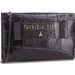 Torebka PATRIZIA PEPE - 2V8116/A1SA-F1TR Black Croco. Czarne torebki do ręki damskie Patrizia Pepe, ze skóry. Za 1,439.00 zł.