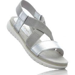Sandały bonprix srebrny. Sandały damskie marki bonprix. Za 79.99 zł.
