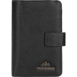 Portfel 13-1-047-R1. Czarne portfele damskie Wittchen. Za 379.00 zł.